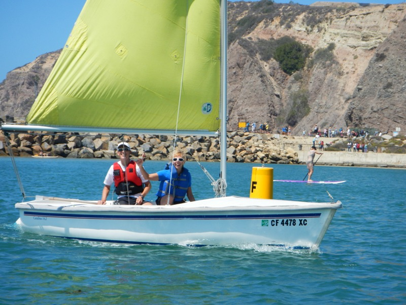 Sailing in Dana Point